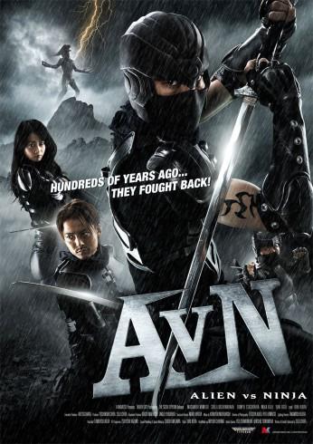 affiche-Alien-vs-Ninja-2010-1-346x490