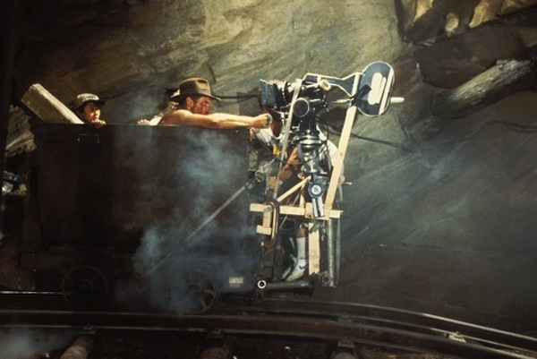 "1984 : Movie "" Indiana Jones and the temple of doom "" by Steven Spielberg"