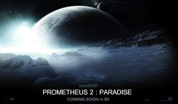 Prometheus2 Paradise Affiche
