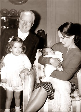 chaplin with geraldine 1946
