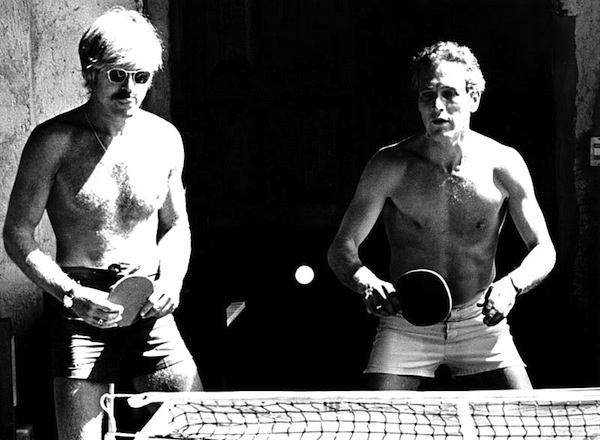 butch cassidyPaul-Newman-and-Robert-Redford-Playing-Table-Tennis