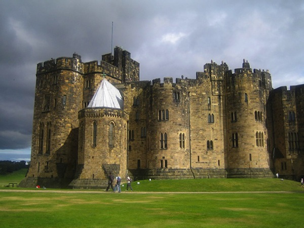 harry potter Alnwick_castle harry potter