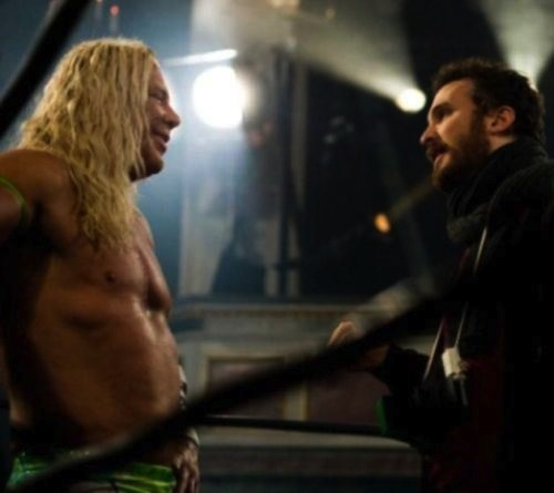 mickey-rourke-and-darren-aronofsky-the-wrestler