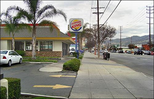 retour vers le BurgerKing