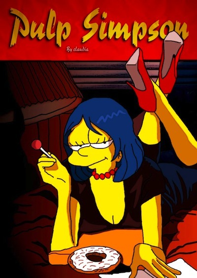 simpson pulp fiction