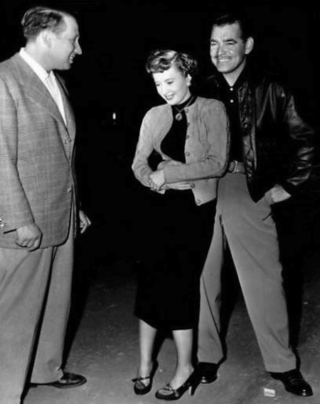 to place a lady StanwyckwClarkGable