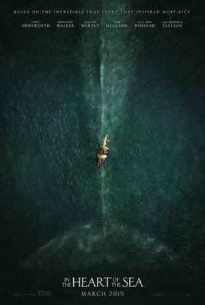 affiche in the heart of the sea