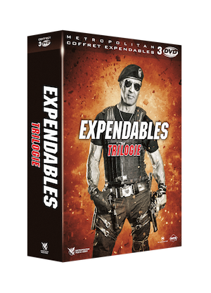 3D COFFRET 3 DVD EXPENDABLES 1A3 ss cigare