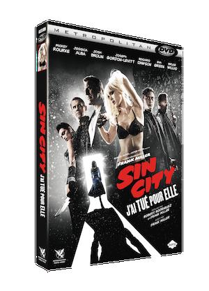 3D FOUR DVDV SIN CITY 2