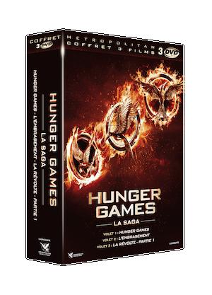3D COFF 3 DVD HUNGER GAMES 1A3
