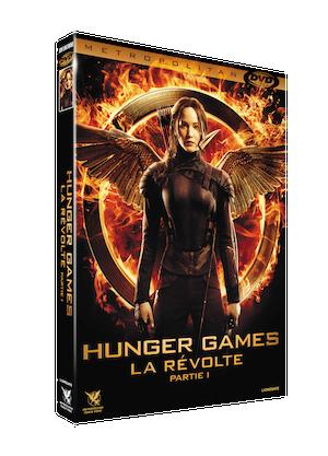 3D FOUR DVDV HUNGER GAMES 3 P1