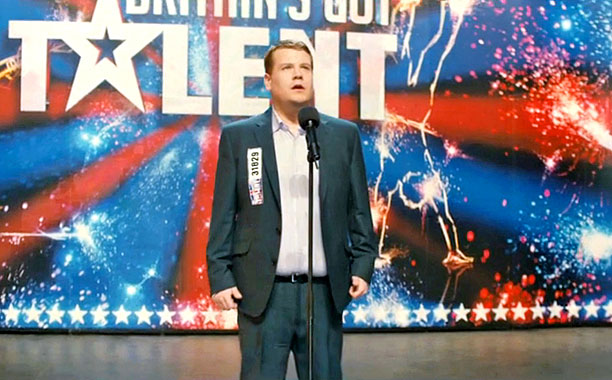 One Chance trailer -- Pictured: James Corden as Paul Potts (Screengrab)