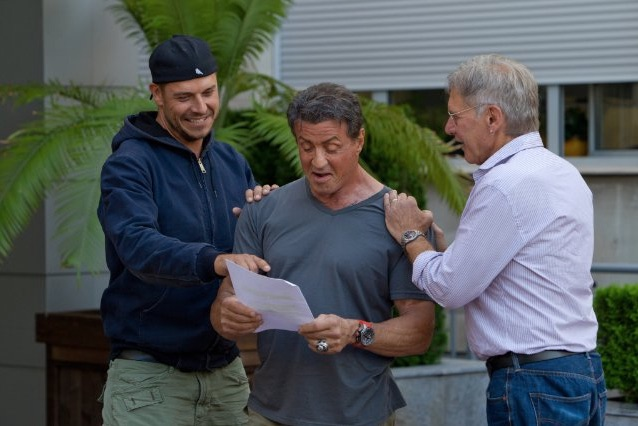 Hugues stallone ford expendables 3
