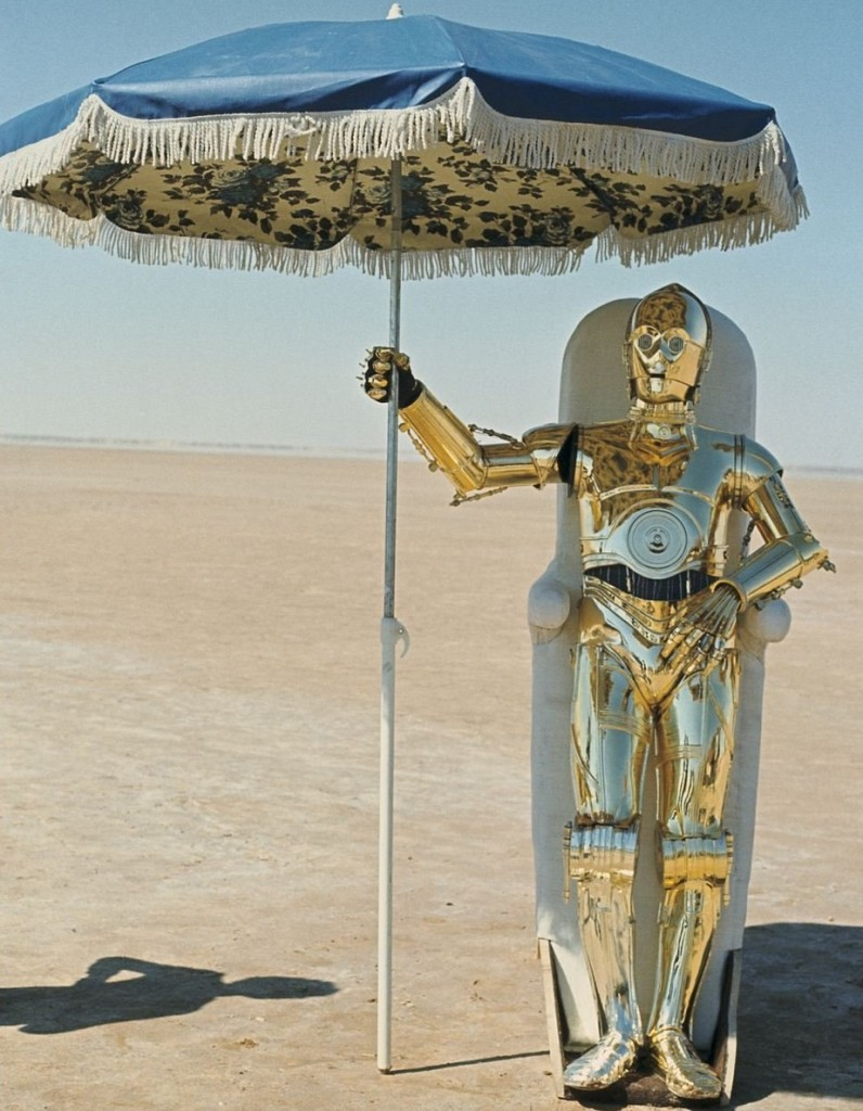 star wars c3po parasol