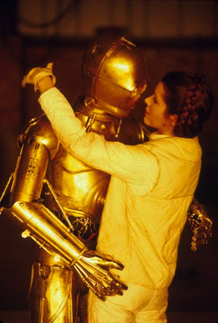 Rare Behind The Scene Photos Of Star Wars