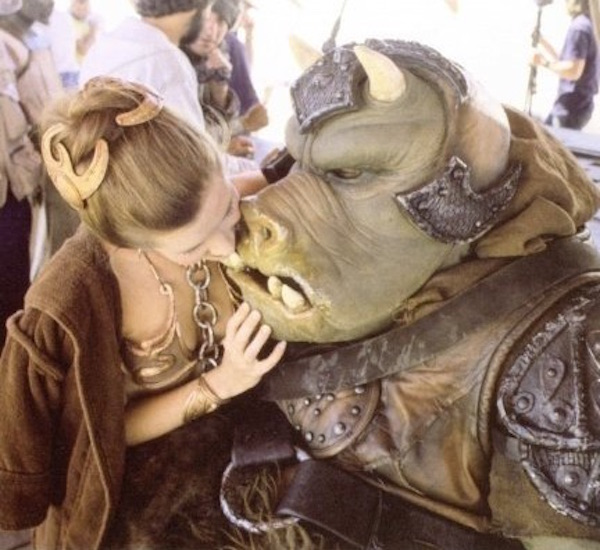 star wars fisher kiss creature