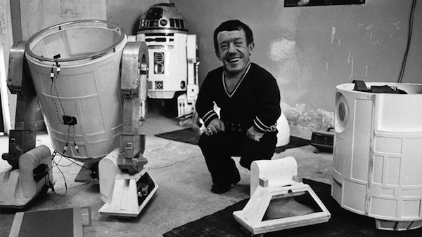 star wars making of kenny baker
