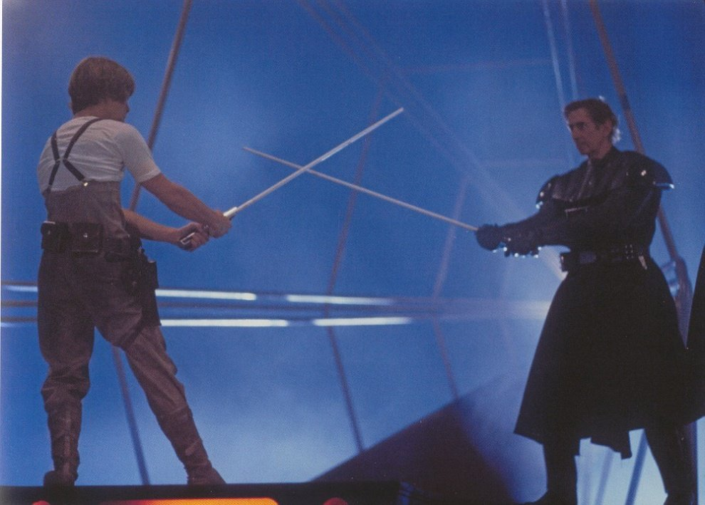 star wars making of repetitions sabre