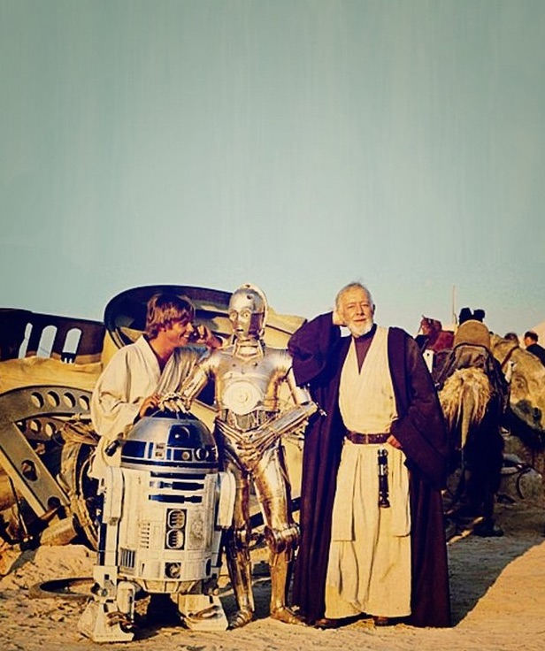 star wars team hamill c3po guiness