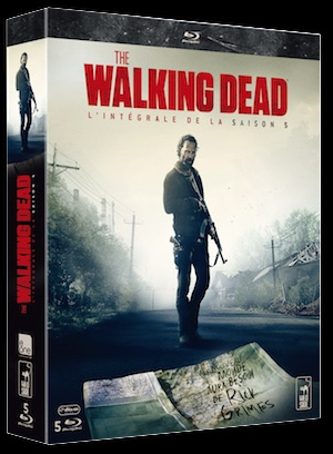 3D THE WALKING DEAD S5 BLU RAY