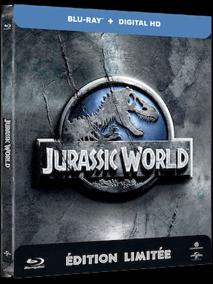 Blu-ray Jurassic World