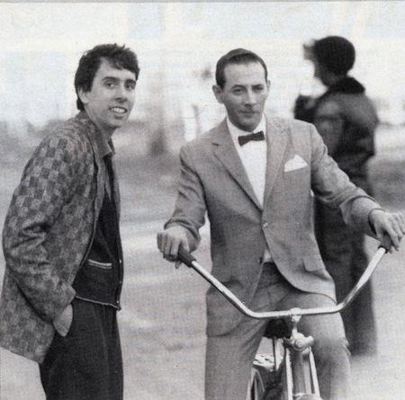 pee wee burton et reubens - Burton - 1985