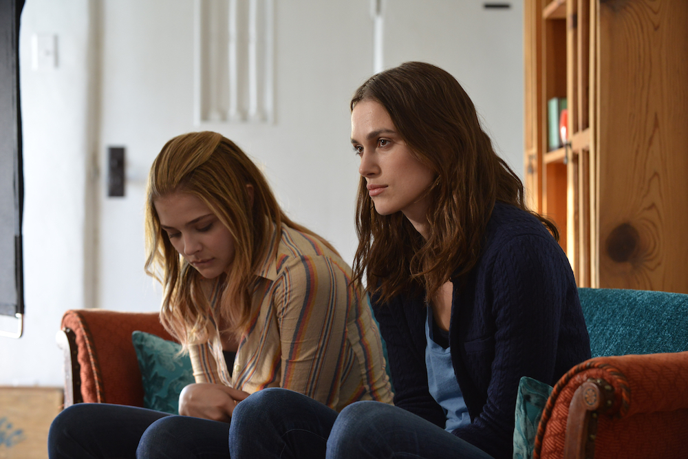"Chloe Moretz, left, and Keira Knightley in a scene from the motion picture ""Laggies.""  CREDIT: Barbara Kinney, A24 [Via MerlinFTP Drop]"