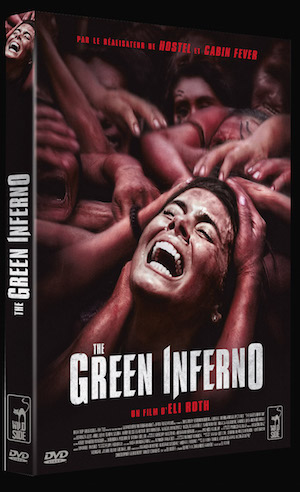 3D FOUR DVD THE GREEN INFERNO copy