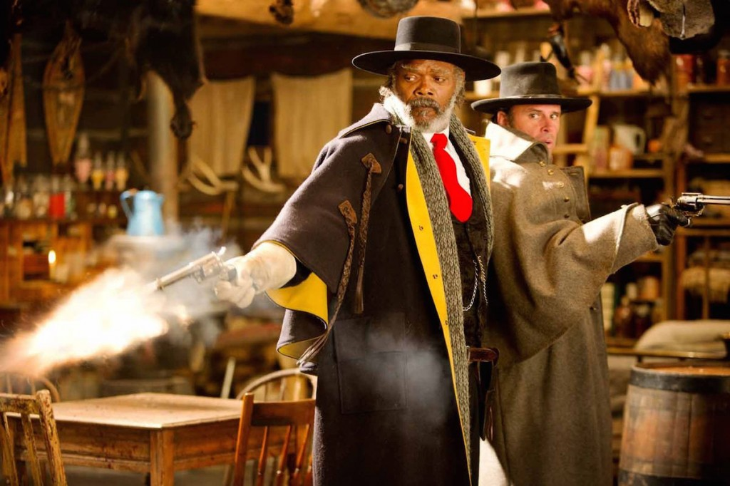 SAMUEL L. JACKSON and WALTON GOGGINS star in THE HATEFUL EIGHT
