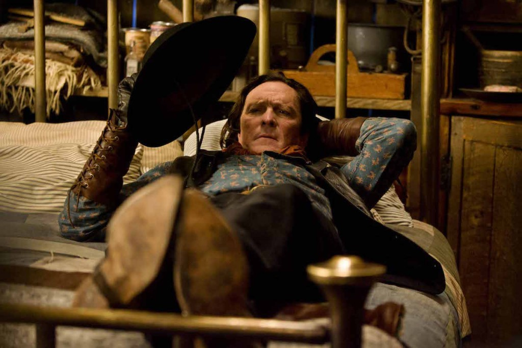 MICHAEL MADSEN stars in THE HATEFUL EIGHT. Photo: Andrew Cooper, SMPSP © 2015 The Weinstein Company. All Rights Reserved.