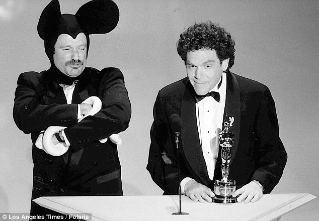 robin williams en micky en colere 1989