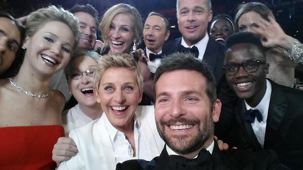 selfie degeneres