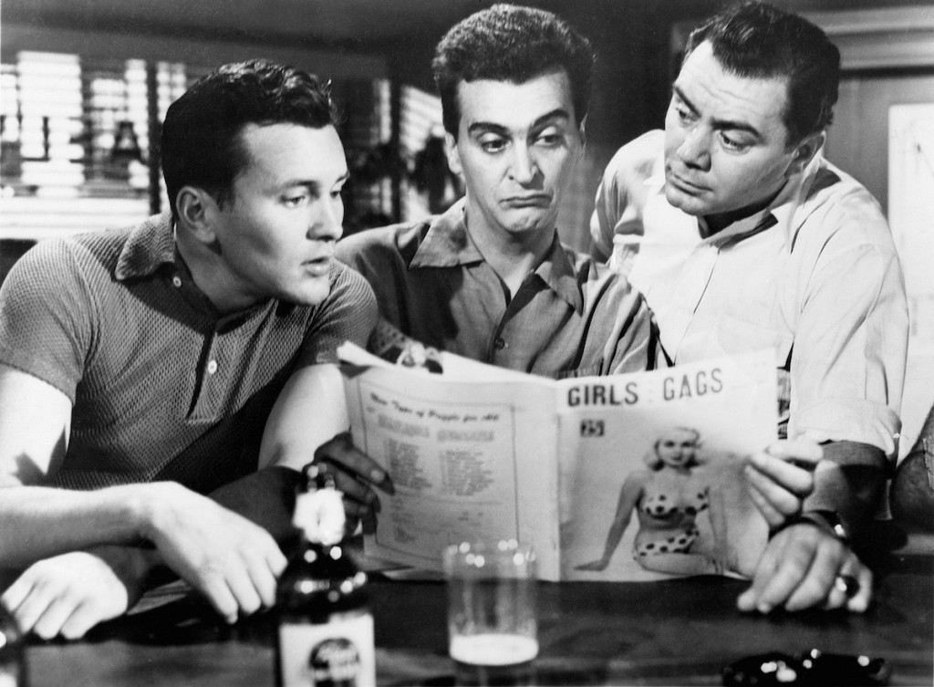 Marty (1955) Directed by Delbert Mann Shown from left: Walter Kelley, Robin Morse, Ernest Borgnine
