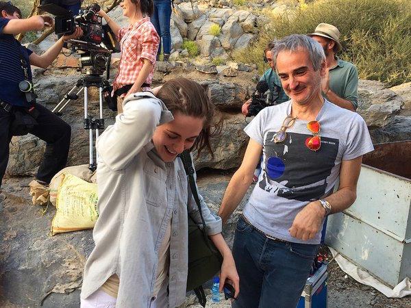 Kristen Stewart & Olivier Assayas Personal Shopper Oman Shooting