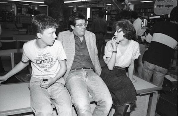 anthony michael hall molly ringwald john hugues breakfast club 1985
