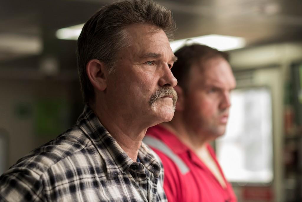 Jimmy Harrell (Kurt Russell,l.) und Jason Anderson (Ethan Suplee,r.)