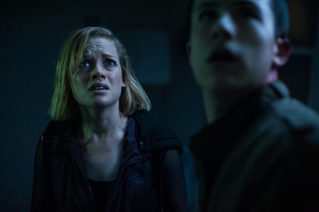 Jane Levy and Dylan Minnette star in Screen Gems' horror-thriller DON'T BREATHE.