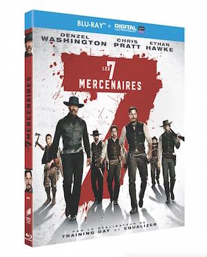 Blu-ray les sept mercenaires