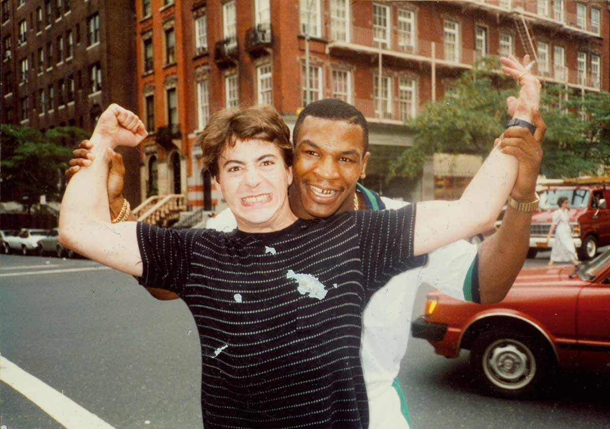 Robert-Downey-Jr-and-Mike-Tyson en 1986