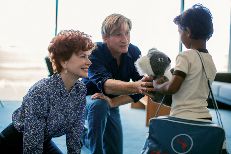 Nicole Kidman, David Wenham and Sunny Pawar star in LION Photo: Mark Rogers