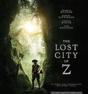 lost city of Z affiche