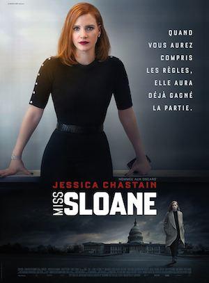 miss sloane affiche 2