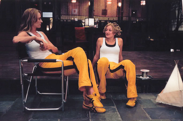 turman et zoe bell kill bill