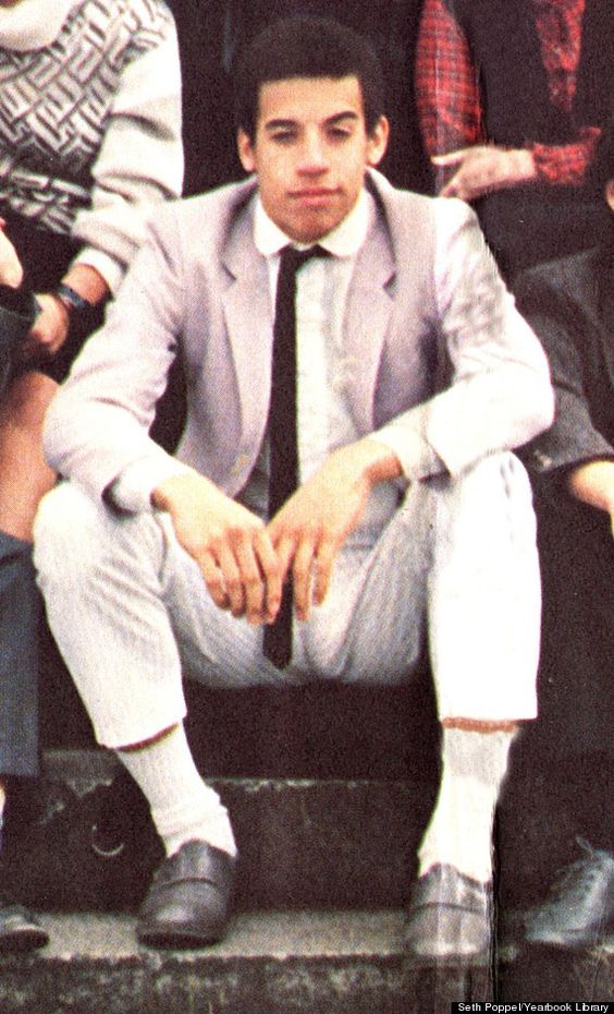 Vin Diesel (name in school was Mark Vincent) Senior Year 1985 Anglo American School, New York, NY Credit: Seth Poppel/Yearbook Library