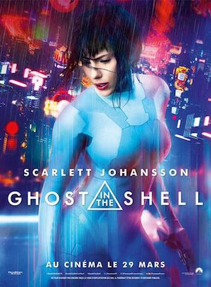 ghost in the shell affiche 2017