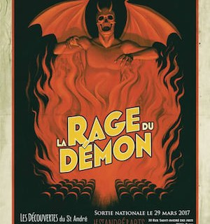 la rage du démon - affiche