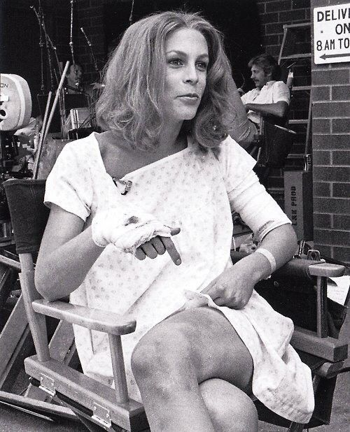 tournage-jamie-lee-curtis-halloween 2