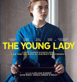 2-the young lady affiche