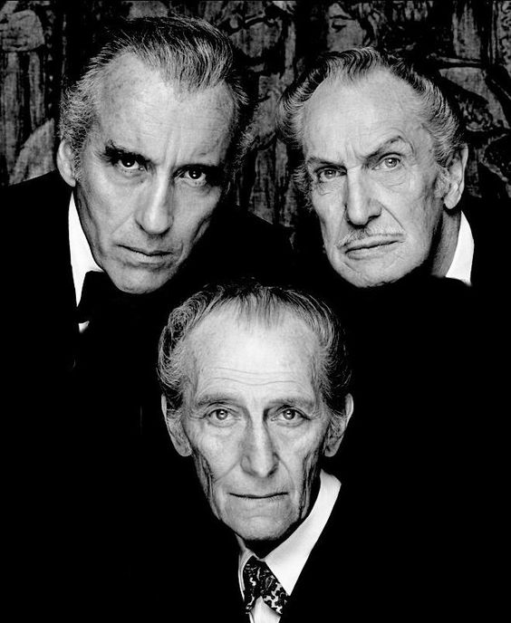 The Bat Pack- Christopher Lee, Vincent Price, Peter Cushing