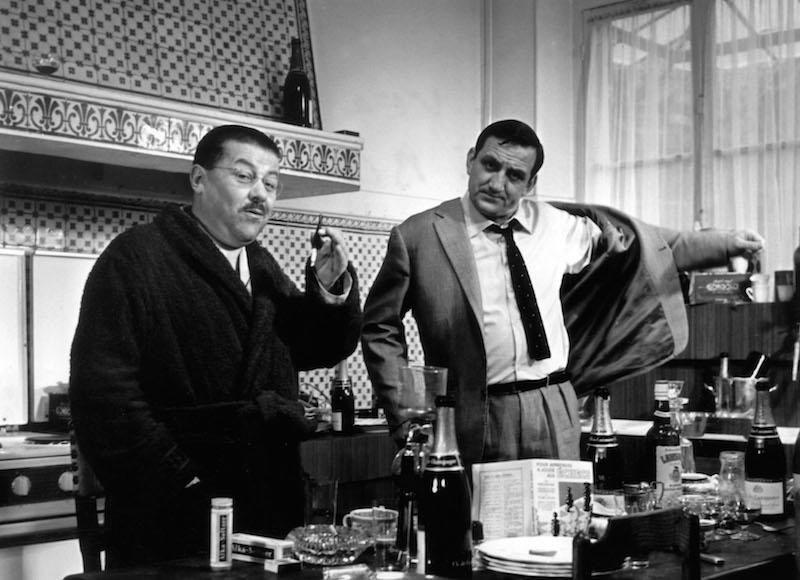 les tontons flingueurs 1963 rø©al. : Georges Lautner lino ventura francis blanche collection christophel ¨© Gaumont distribution / SNE Gaumont / DR